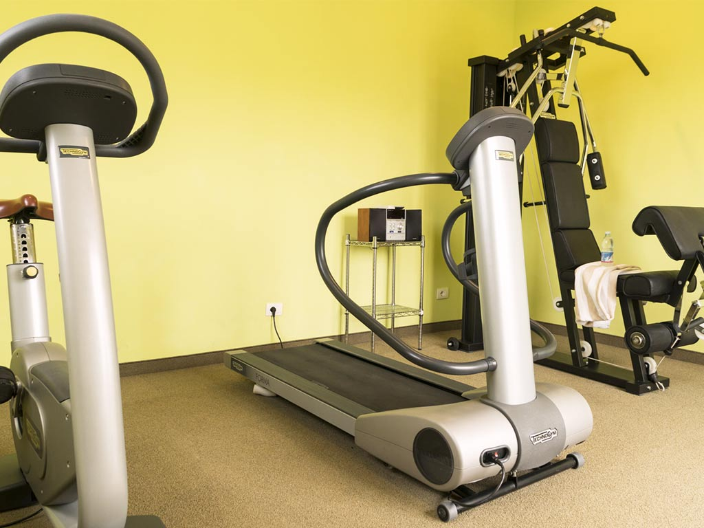 gym facilities Hotel Certaldo
