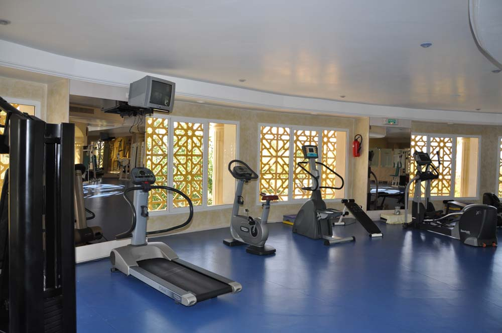 Hasdrubal Thalassa and Spa in Port El Kantaoui Gym
