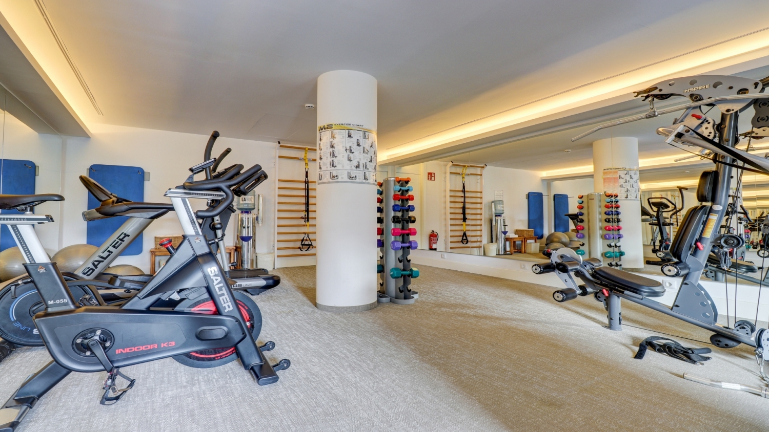 Fitness Centre Hoposa Illa D'or Hotel