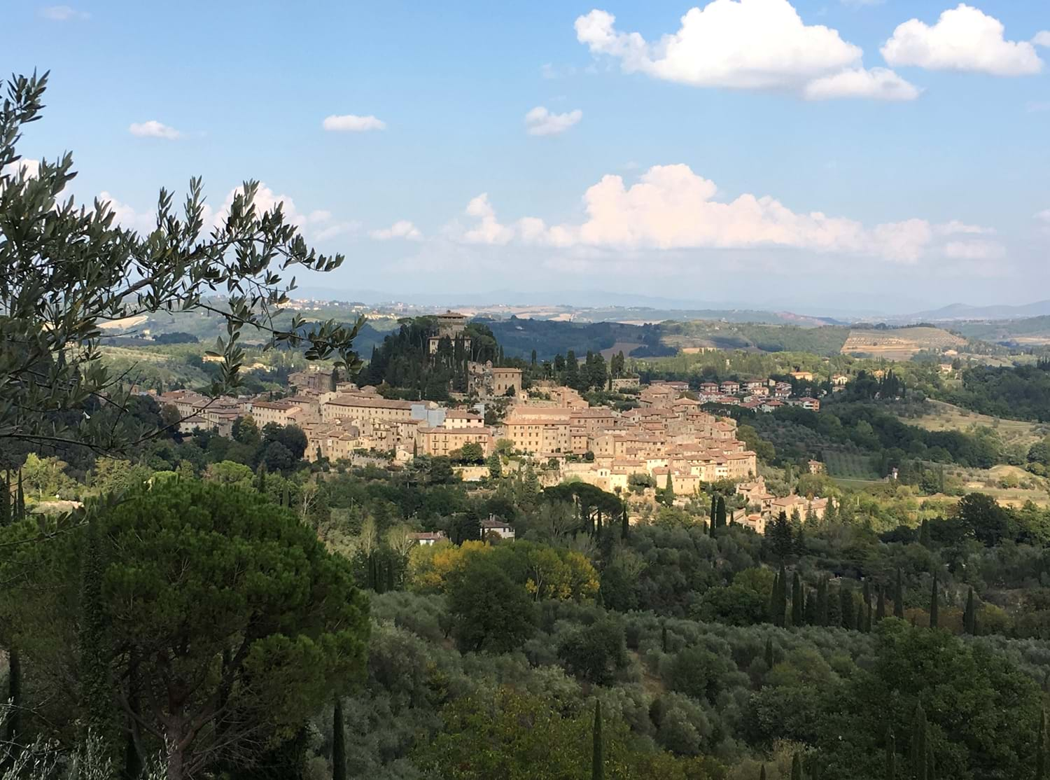 village and countryside Villa La Torretta