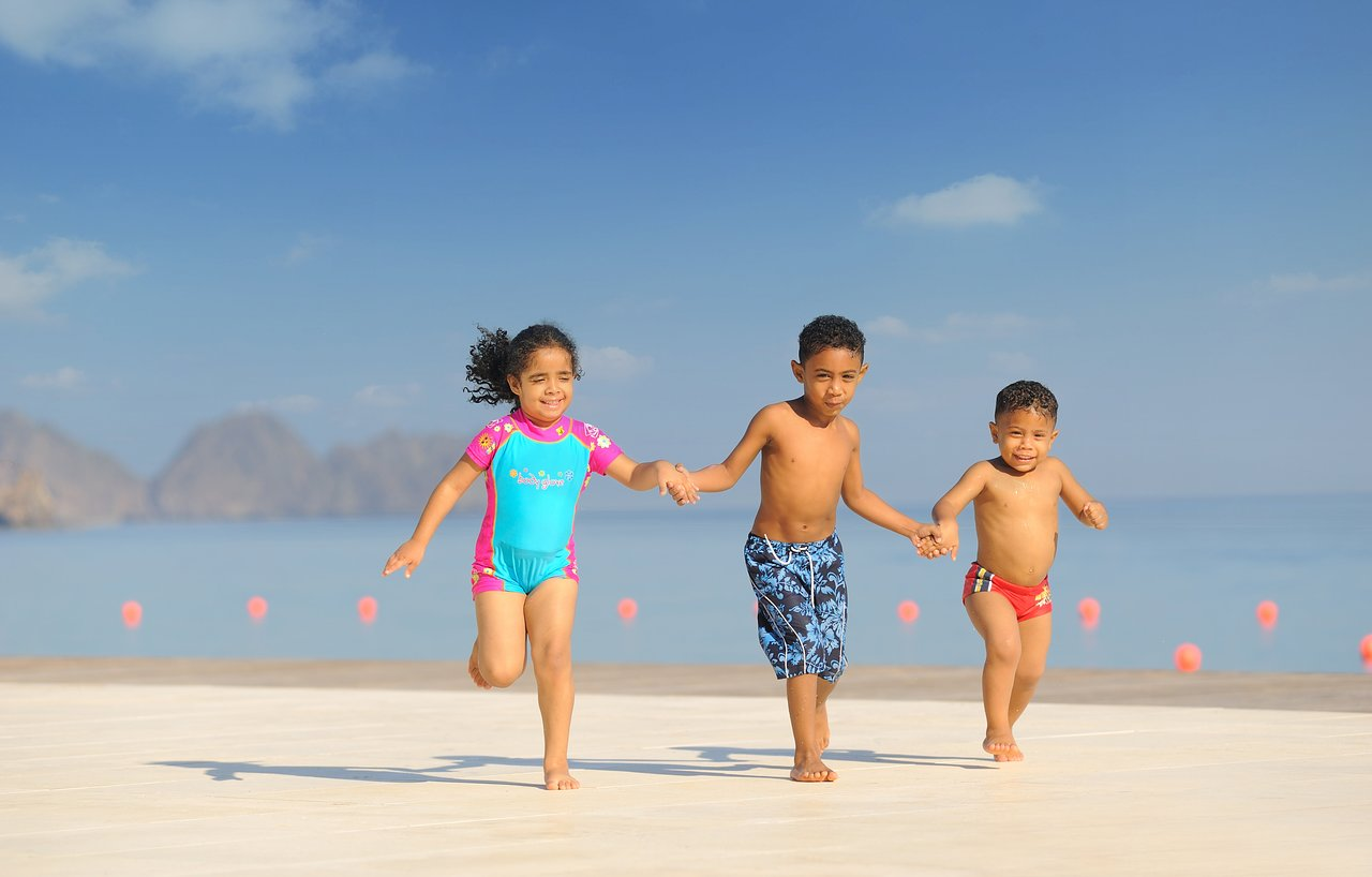 Al Bustan Palace Children on the Beach