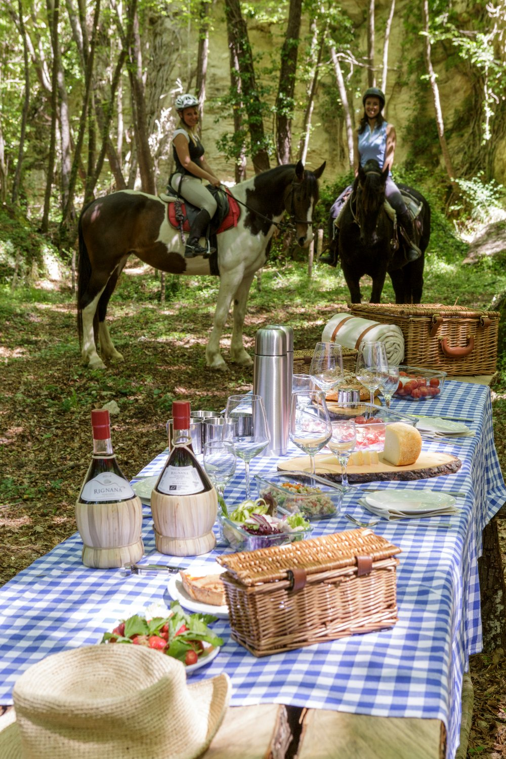 Borgo Pignano Food and Horses