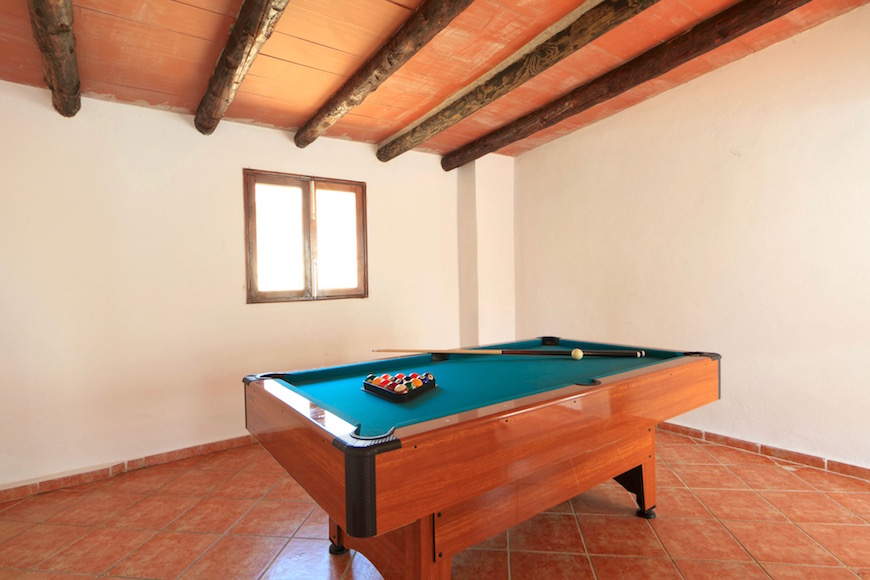 Pool Table Villa Casa Puerto