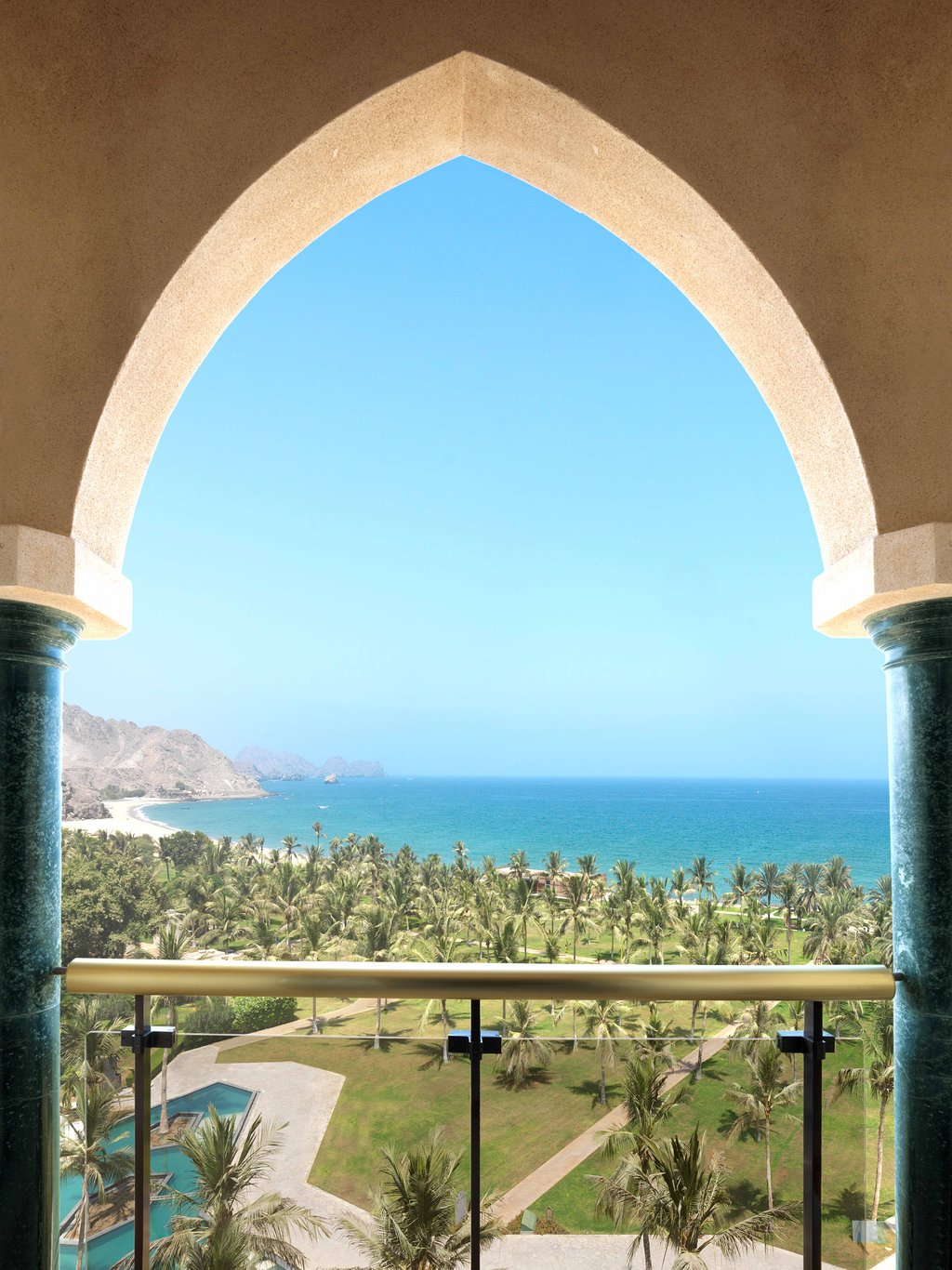 Al Bustan Palace Balcony View