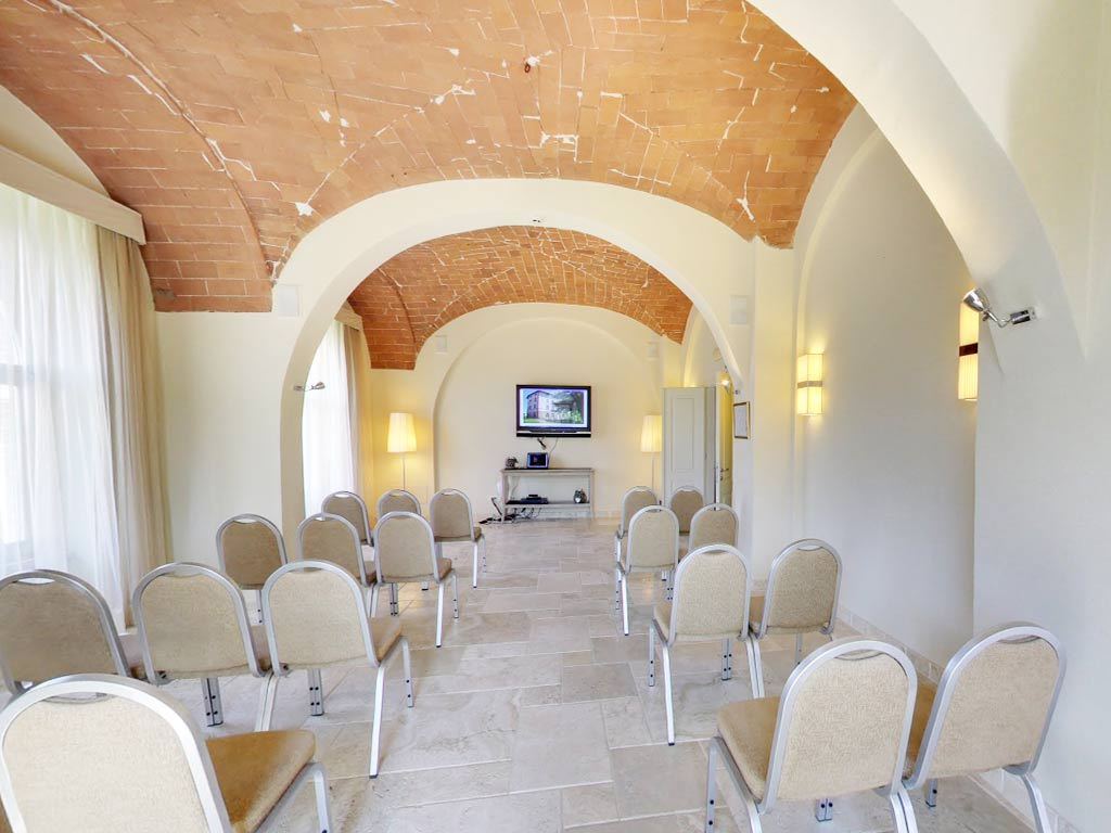 events hall with seating Hotel Certaldo