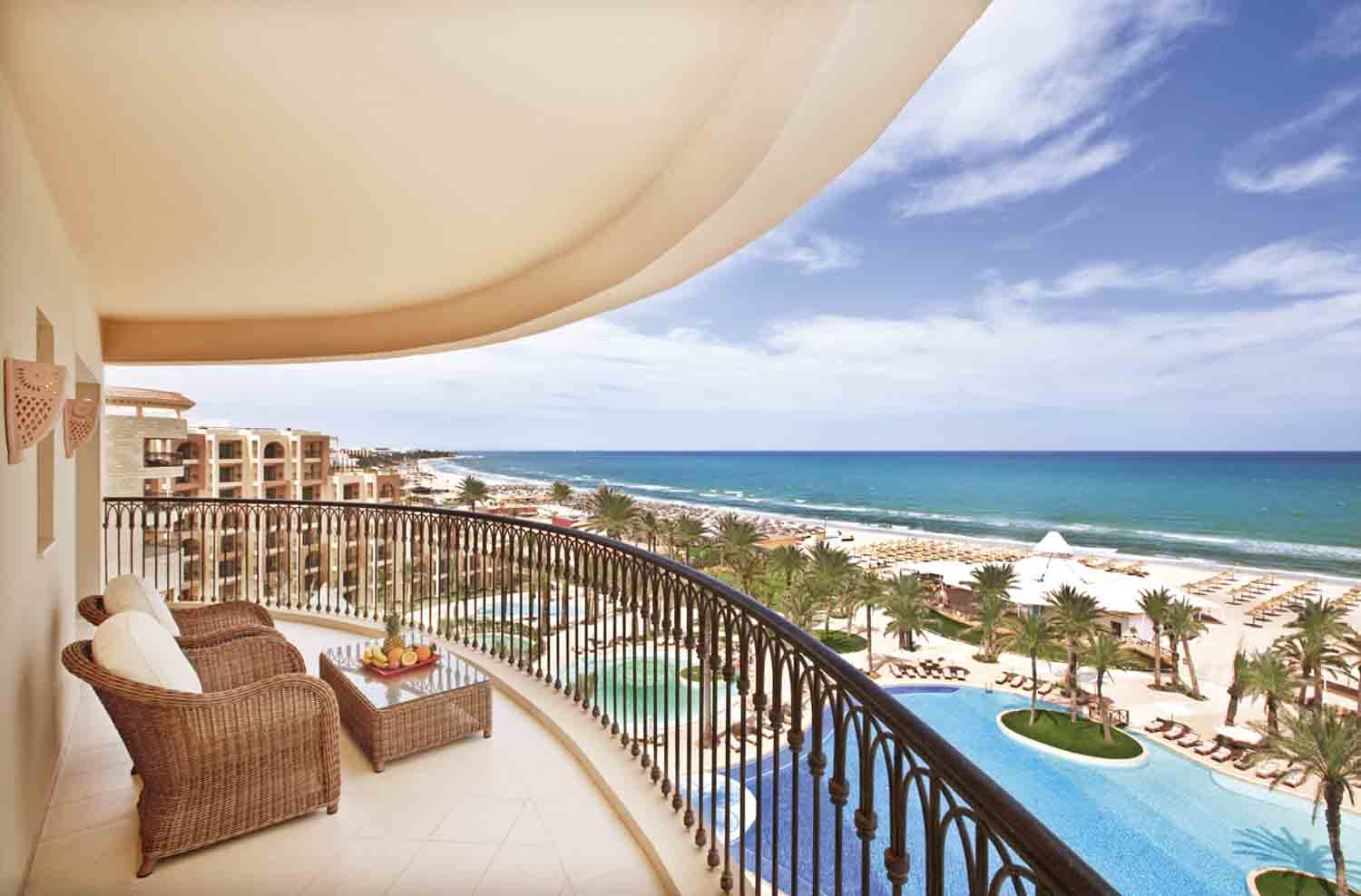 Movenpick Resort and Marine Spa Balcony and View