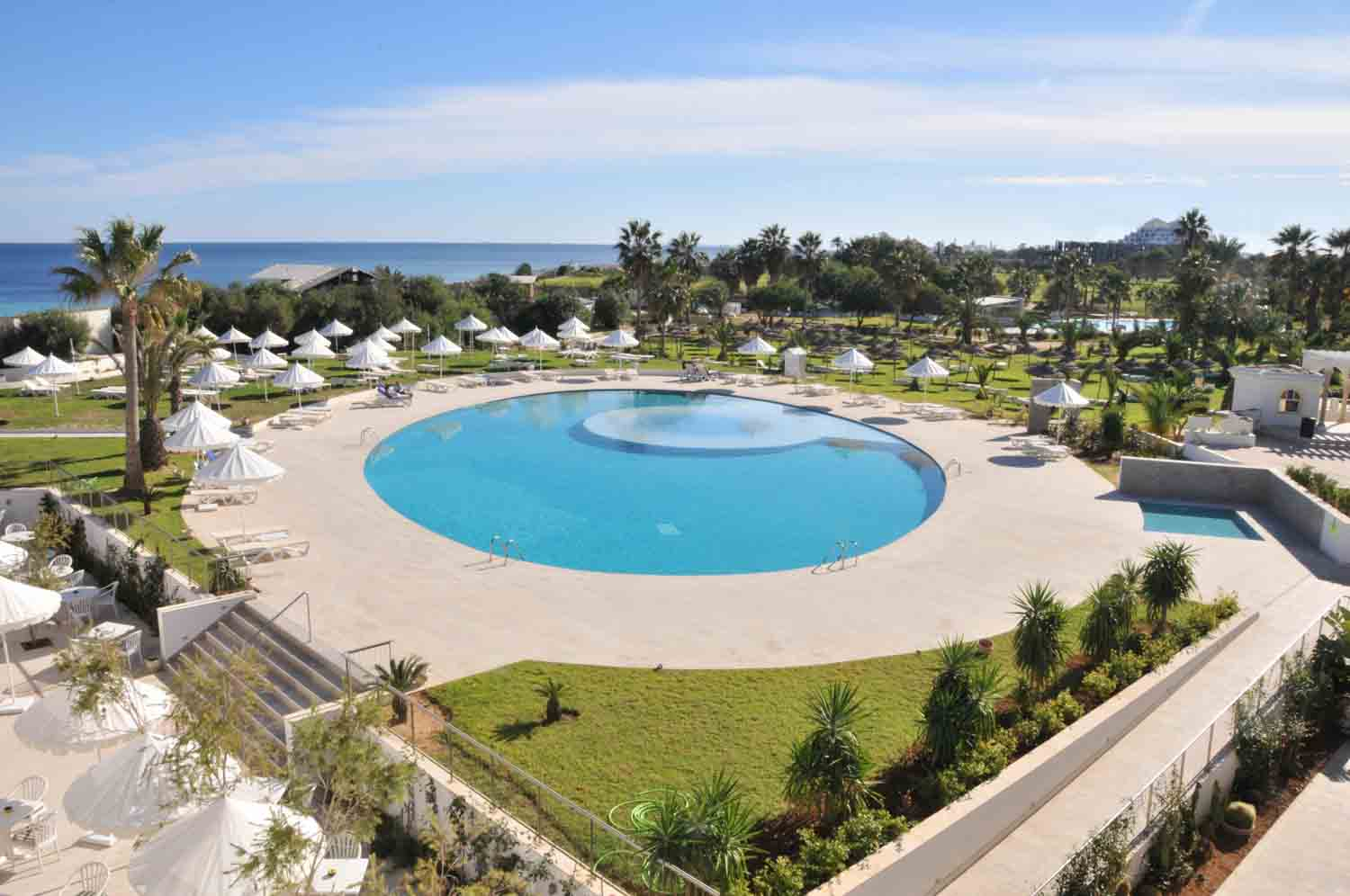 Iberostar Diar El Andalous Ariel View of the Swimming Pool