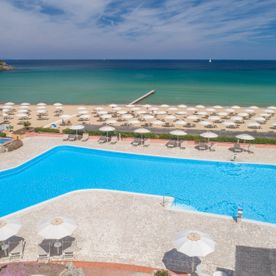 Hotel Del Golfo Swimming Pool, Beach and Sea