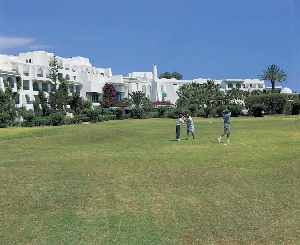 Hasdrubal Thalassa and Spa in Port El Kantaoui Golf
