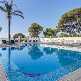 Swimming Pool Hoposa Illa D'or Hotel