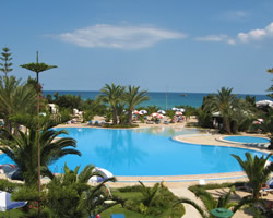 Sentido Aziza Beach Golf and Spa Ariel View of Swimming Pool