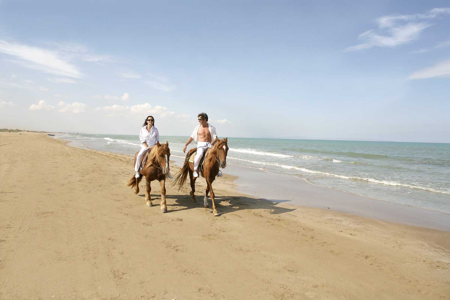 Gammarth Riding Horses on the Beach