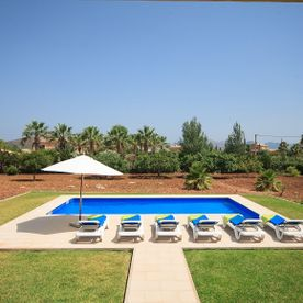 Swimming Pool and Garden Villa Embat