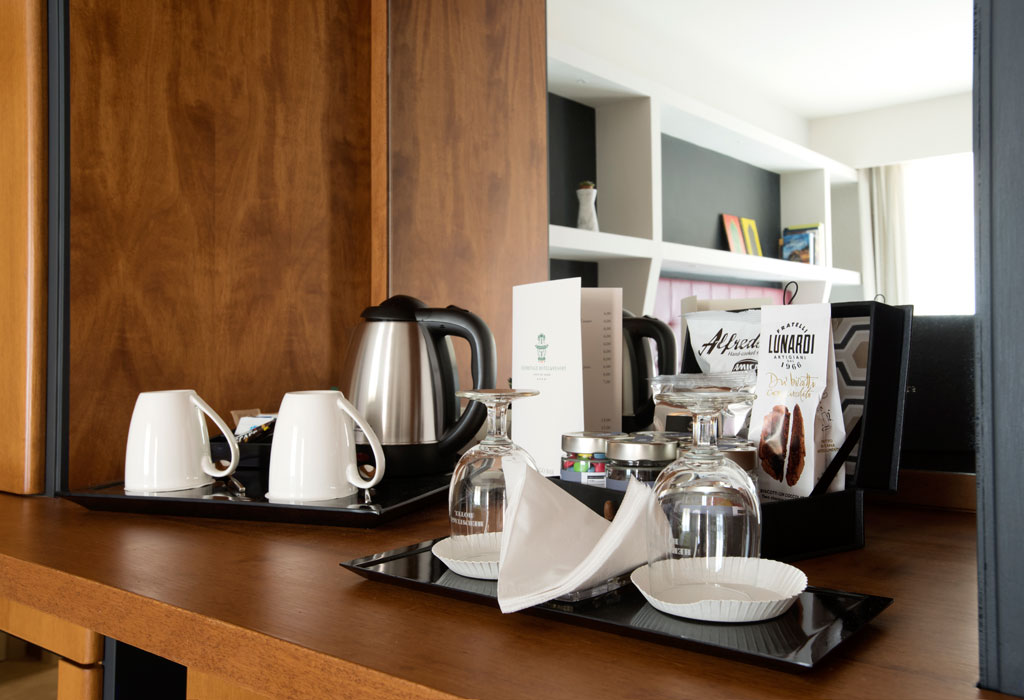 Hermitage Hotel and Resort Tea and Coffee making Facilities