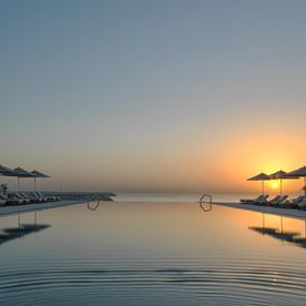 Kempinski Swimming Pool at Sunrise