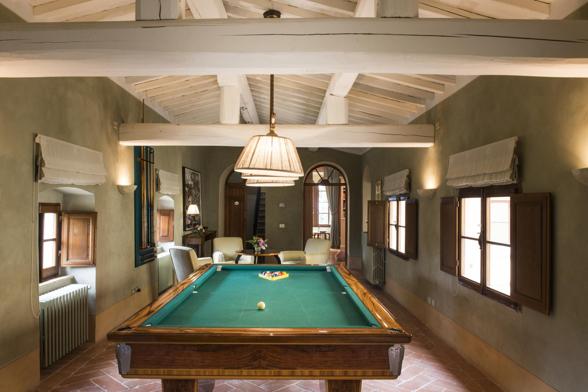 Borgo Pignano Pool Table