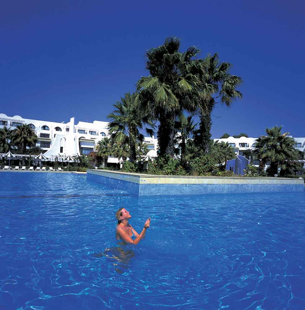 Hasdrubal Thalassa and Spa in Port El Kantaoui Pool